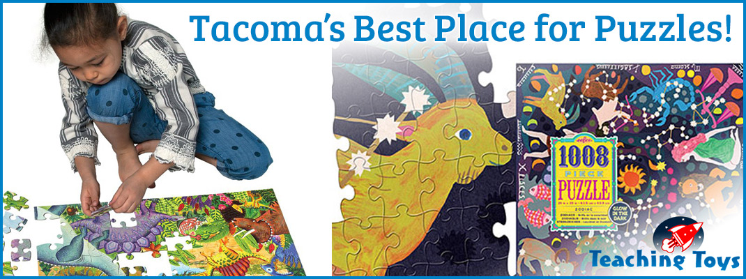 Puzzles and Games in the Tacoma area